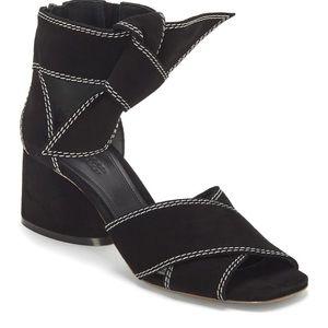 MERCEDES CASTILLO Asuki Knotted Strap Sandal Suede